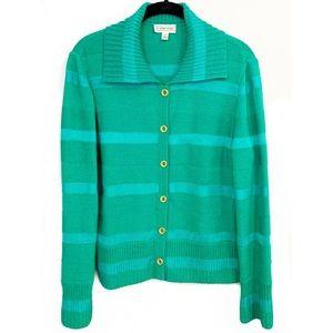 St. John Sport Cardigan, M, Wool Blend, Perfect!